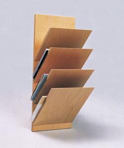 Wandzeitschriftenhalter 4-fach - werkstatt-design