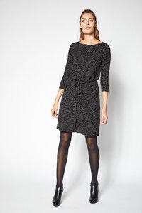LANIUS- feminines Jerseykleid mit Print 3/4 Ärmel - Lanius