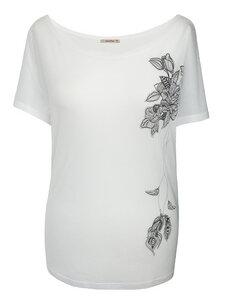 GYPSY FLOWER Shirt – weiß - woodlike