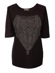 TRIBAL Shirt - schwarz - woodlike
