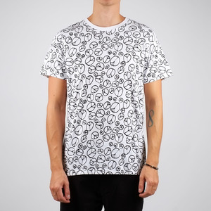 Stockholm T-shirt Peace Pattern - DEDICATED