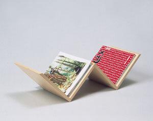 Zeitschriftenhalter w-Form - werkstatt-design