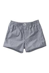 Boxershort #STRIPES gestreift schwarz / weiß - recolution