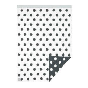 Lässig Babydecke Little Chums Stars White 100 % Bio-Baumwolle 70 x100 cm   - Lässig