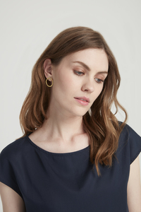 Ohrringe - Simple Circle Earrings  - People Tree