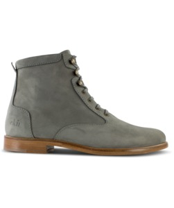 Desert High/ Graues Nubukleder/ Ledersohle - ekn footwear