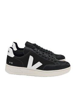 V12 Bmesh Black White - Veja