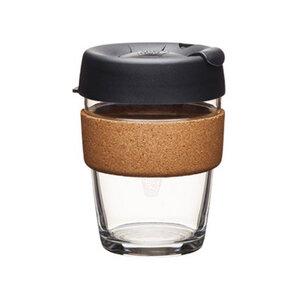 Coffee to go Becher aus Glas mit Grifffläche aus Kork - Limited Edition - Medium 340ml - KeepCup
