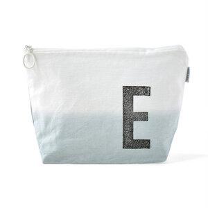Kulturtasche mit Monogramm (grau) - renna deluxe
