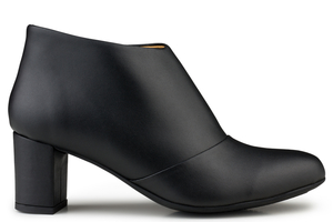 Anna Bootee Black - Eco Vegan Shoes