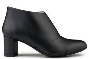 Anna Bootee Black - Eco Vegan Shoes