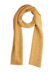 Schal - 100% Baby Alpaka - Yellow/White - Les Racines Du Ciel