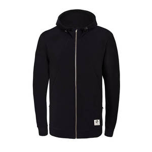 Functional Fleece Jacke Schwarz - bleed