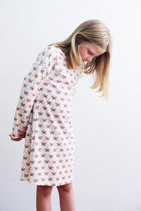 Kinder Nachthemd Schmetterlinge - betus