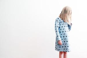 Kinder Nachthemd Bremer Stadtmusikanten petrol - betus