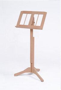 Notenständer Buche massiv Modell art-deco, lackiert - werkstatt-design