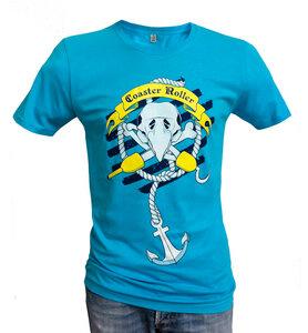 'Paul Piratenpapagei', T-Shirt aus Biobaumwolle - Coaster Roller