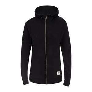 Functional Fleece Jacke Damen Schwarz - bleed