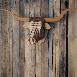 "Longhorn ""Tex"" - Cardboard Safari"