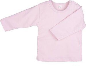Langarmshirt Baumwolle rosa - iobioTM (PoPoLiNi®)