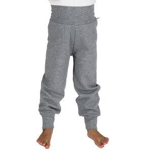 Sweat-Hose mit Bündchen in grau - Carlique