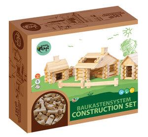 Holz Baukasten mit 111 Teilen - Varis Toys