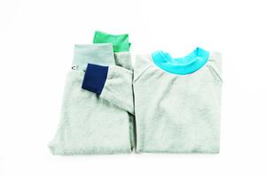 Kinder Frottee Schlafanzug Bio Baumwolle grün bunt türkis - betus