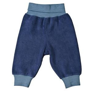 Baby Frottee Hose blau biologisch People Wear Organic - People Wear Organic