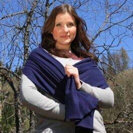 Schal aus Hanf und Bio-Baumwolle - The Hemp Line