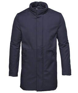 Long Soft Shell Bounded Jacket _ GRS - KnowledgeCotton Apparel