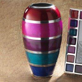Kleine ovale Vase - Namaste