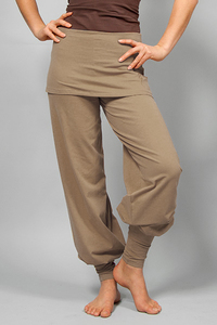 Sohang Yogahose Taupe - Breath of Fire