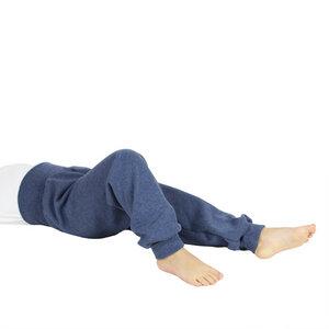 Sweat-Hose mit Bündchen in dunkelblau - Carlique