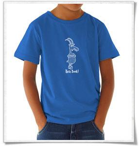 Kein Bock ! T-Shirt in Blau & Weiß für Kinder und Jugendliche - Picopoc