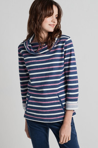 Boslowick Sweatshirt Evening Tide Night Freesia - Seasalt Cornwall