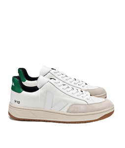 V 12 B-Mesh White White Emeraude Natural Outsole - Veja