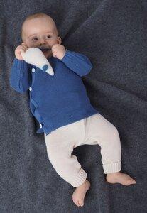 Baby Kinder Pullover  Schlüttli uni - Reiff