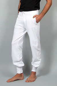 Mahan Yogahose Weiss - Breath of Fire