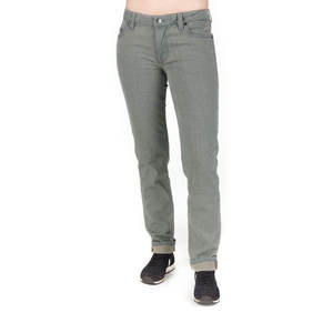 Straight Fit Jeans Damen Grau - bleed
