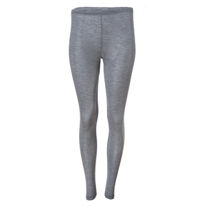 Wolle Seide Leggings - dunkelblau geringelt - People Wear Organic