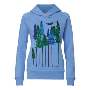 FellHerz Wood Hoody heather blue - FellHerz