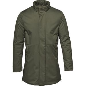 Long Soft Shell Bounded Jacket Forrest Night  - KnowledgeCotton Apparel