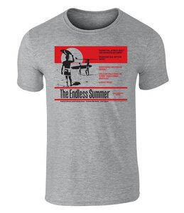 The Endless Summer Surf Reviews Grafik Unisex T-Shirt, S - XXL - California Black Plate