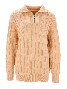 'Green Life' Troyer-Pullover natur - 'Green Life'