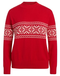 """""""Green Life"""" Pullover rot/natur - """"Green Life"""""""