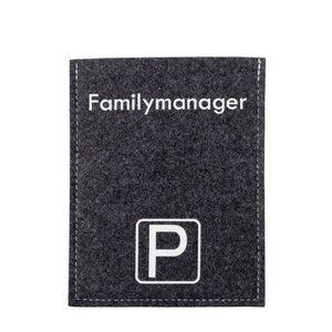 Originelle Parkscheibenhüllen Violan Familymanager - Metz-Textil Design