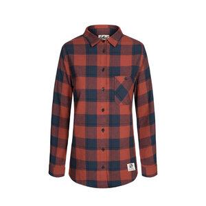 Lumberjack Hemd Damen Rot - bleed
