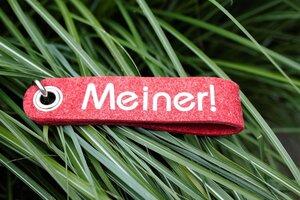 Unsere originellen Schlüsselbänder Meiner !  - Metz-Textil Design