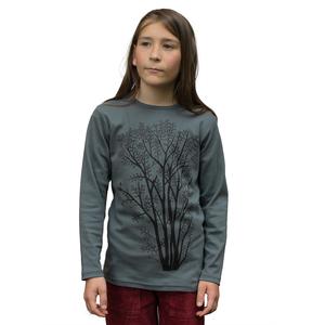 Erle mit Elster Langarmshirt für Kinder in stormy weather - Cmig