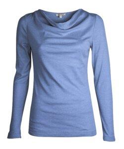 Melange Cascade - edles Baumwoll Jersey Shirt - Alma & Lovis
